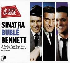 MICHAEL BUBLE - FRANK SINATRA - TONY BENNETT - MY KIND OF MUSIC (NEW SEALED 2CD)