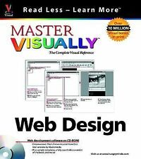 Master VISUALLY TM  Web Design (Visual Read Less, Learn More) Gatlin, Carrie F.