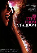 20 FEET FROM STARDOM- 2014 DVD USA COMPLETE IN BOX MOVIE FREE SHIPPING