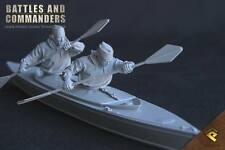 RP Models Major Blondie Hasler WW2 Unpainted 1/35th 2 figure kit