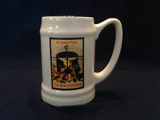 St. JAMES's GATE THE HOME OF GUINNESS Beer Mug - Carrigaline Ireland Pottery