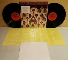 Earth Wind and Fire Faces LP 1980 Columbia Records KCZ-36795 1st Press W/Poster