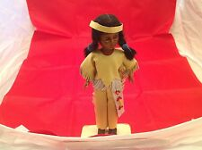 Native American Indian Doll Handmade Oglala Sioux Reservation Heritage Doll