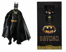 "NECA BATMAN 1/4 SCALA 1989 Batman Michael Keaton 18"" pollici Action Figure"