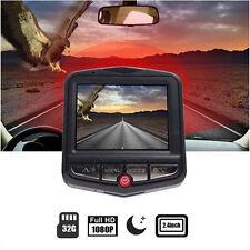 2.4'HD 1080P Auto Car DVR CCTV Dashcam Kamera Überwachung Recorder Lens G-Sensor