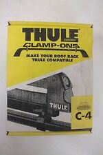 "Thule C-4 Clamp-Ons Connect Thule Accessories to Existing Bars 1/2"" x 1 3/4"" NEW"