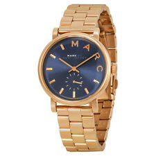 Marc by Marc Jacobs Baker Rose Gold-tone Steel Ladies Watch MBM3330