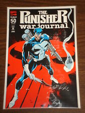PUNISHER WAR JOURNAL #50 VOL1 MARVEL EMBOSSED CVR JANUARY 1993