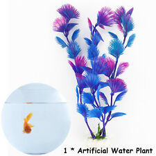 Artificial Plastic Water Plants for Fish Tank Aquarium Decoration Decor Ornament