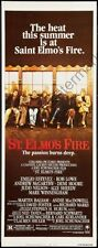 St Elmos Fire Movie Poster Insert #01 Replica