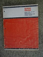 1972 Case 33S 34 Backhoe for 750 850 1150 Crawler Tractor  Parts Catalog B996  M