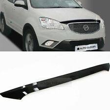 San Front Hood Guard Bug Shield Molding for SSANGYONG 2012-2013 Actyon Korando C