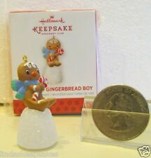 2013 Hallmark ONE SWEET GINGERBREAD BOY repainted Local Club Ornament QXC8522