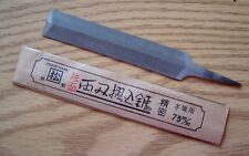 75mm One Sided JAPANESE SAW FILE Seimitsu Super Fine Yasuri Kakumatsu NEW/OLD