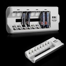 Universal Battery Charger for AA AAA NI-MH NI-CD Rechargeable Battery 8 Channel