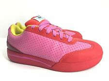 Reebok Ice Cream BBC Pharrell Boardflip Skate Shoes Sneakers Sz 8.5 Pink Red