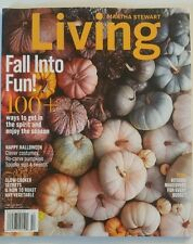 MARTHA STEWART LIVING FALL INTO FUN!  OCTOBER 2016 BRAND NEW MAGAZINE