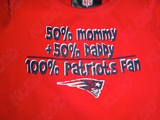 NFL New England Patriots 100% Fan Infant Bodysuit Snap-suit size 3-6 Months