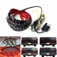"60"" 6-Function Tailgate Red White LED Strip Reverse Brake Signal Light 12V 24V"