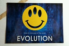 EVOLUTION HAVE A NICE END OF WORLD MOVIE 4x6 PROMO MINI POSTER FLYER POSTCARD