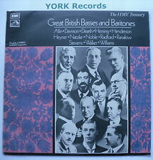HLM 7009 - GREAT BRITISH BASSES & BARITONES - Various - Excellent Con LP Record