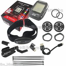 Sigma ROX 11.0 GPS Wireless Bike Computer Set Black Cadence Heart Rate