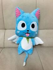 New Cute Happy Cartoon doll Anime Fairy Tail Blue Cat Happy plush toys gift 12''