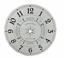 """NEW 6-7/8"""" Metal Time and Tide Clock Dial (DM-01-6)"""