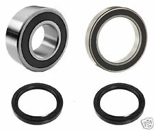 09-14 Suzuki LT-Z400 LTZ400 Rear Axle UPGRADE Wheel Bearing Seal Kit OEM Carrier