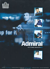 Admiral Autumn-Winter 98 Clothing 1998 Magazine Advert #4440