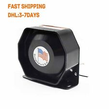 200W12V Compact Loud Speaker PA System Horn Emergency Warning Sir New Universal