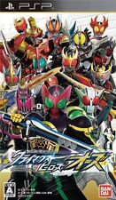Used PSP Kamen Rider Climax Heroes OOO  Japan Import ((Free shipping))