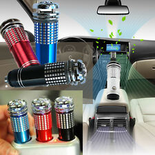 Car Auto Vehicle Oxygen Bar Ozone Freshener Air Purifier Ionizer Air Cleaner