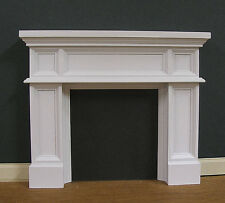 FIREPLACE ~  Panel  ~   JIM COATES  ~ Dollhouse Mini ~ 1:12 scale ~ Room Box