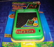 NEW Lite Brite Peg-a-Lite Pocket Travel Electronic Pocket Game New In Package