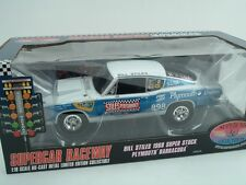 1968 BILL STILES SUPER STOCK  BARRACUDA 1:18 SS/BA 426 HEMI #50924