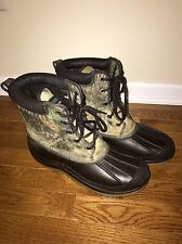 Aspen Sport Outdoor Original Thinsulate Camo Boots Size 12