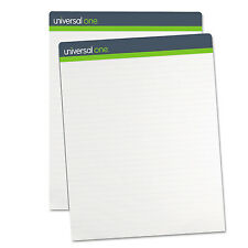 Universal One Sugarcane Based Easel Pads 1 Inch Rule 27 x 34 White 50 Sheets 2