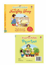 Farmyard Tales Flip Books - The Naughty Sheep - Pig Gets Lost 2 stories in1 book