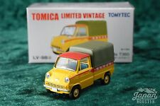 [TOMICA LIMITED VINTAGE LV-98d 1/64] HONDA T360 TOSHIBA SERVICE CAR (Yellow)