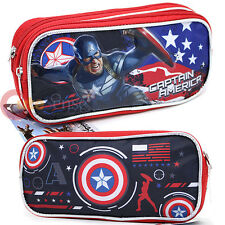 Marvel Avengers Captain America Pencil Case Accessory Case Bag