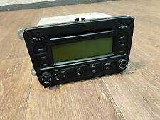 VW RCD 300, CD Radio Autoradio, Golf Passat Touran Jetta Caddy Eos 1K0035186L