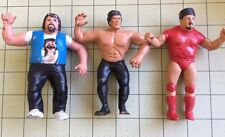 WWF Titan Sports Figures Lot Lou Albano Ricky The Dragon Nikolai Volkoff w/ Hat