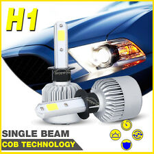 H1 160W COB LED Headlight Bulbs Kit Globes High Power Replace Halogen HID XENON