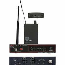 Galaxy Audio AS-900 Any Spot Wireless In-Ear Personal Monitor System K5 646.7