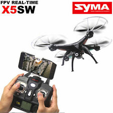 Syma X5SW 2.4GHz 4-Axis Aircraft RC Quadcopter Drone Helicopter HD Camera Black