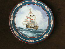 Royal Doulton Collector Plate, Santa Maria, Great Sailing Ships of Discovery