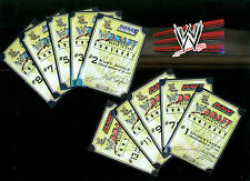 WWE Mattel WWF Jakks Raw Smackdown Draft Contracts 10 Pieces