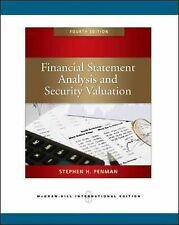 Good, Financial Statement Analysis and Security Valuation, Penman, Stephen H, Bo