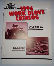 Case / Case IH Tractor Dealers Wells Lamont Work Glove Sales Brochure Catalog